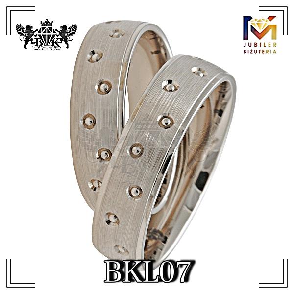 obrączki złote biżuteriakumor.pl obrączki24.com.pl obrączki białe złoto palladowe nawiercane zdobione