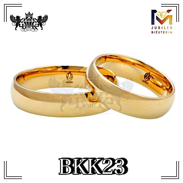 obrączki złote biżuteriakumor.pl obrączki24.com.pl obrączki klasyczne półokrągłe z góry najtaniej najlepsza cena złoto 333 lub 585