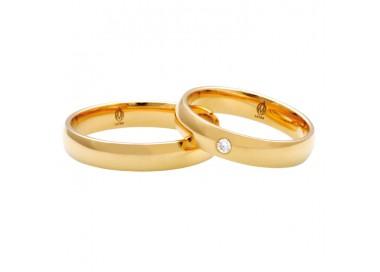 Kolczyki złocone Swarovski długie Wieczorowe Ślubne wkrętki