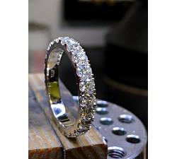 Bransoletka głowy Pumy / Pantery złoto 585 14K sztywna otwierana bangle