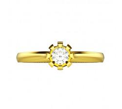 Obrączki złote 333 8K damska z cyrkoniami lub brylantami męska z zdobieniami / nacięciami