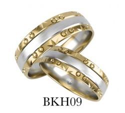 Zamówienie P. Paulina EXPRESS obrączka złota zdobiona dwa kolory 585 14K