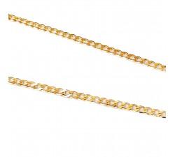 Łańcuszek złoty 585 14K splot pancerka 50 cm 2,2mm