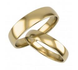 Zamówienie p. Angelika klasyczna para obrączek lekko półokrągłych złoto 585 14K