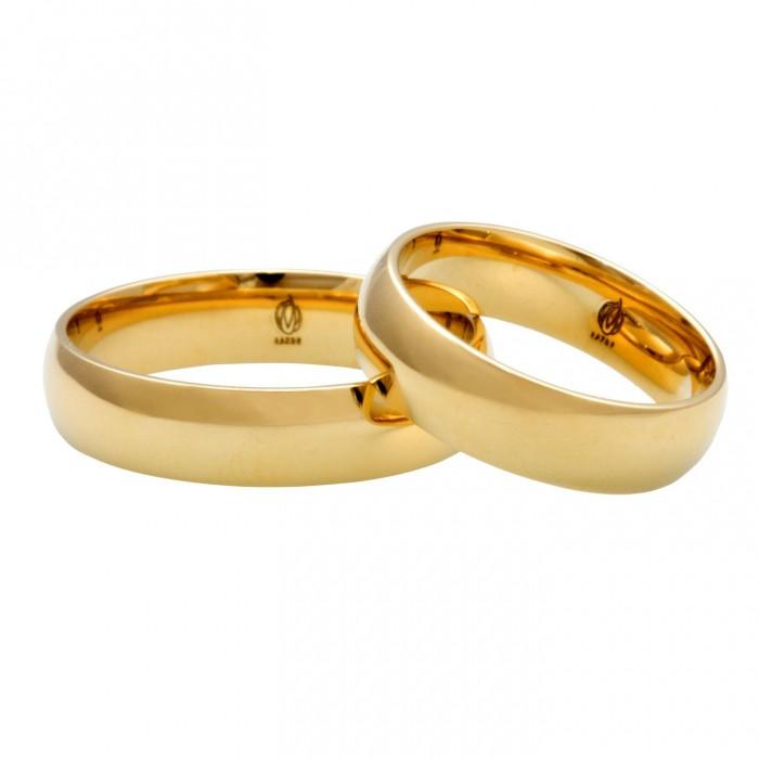 Zamówienie EXPRESS obrączki 3 i 4 mm klasyczne półokrągłe złoto 585 14K