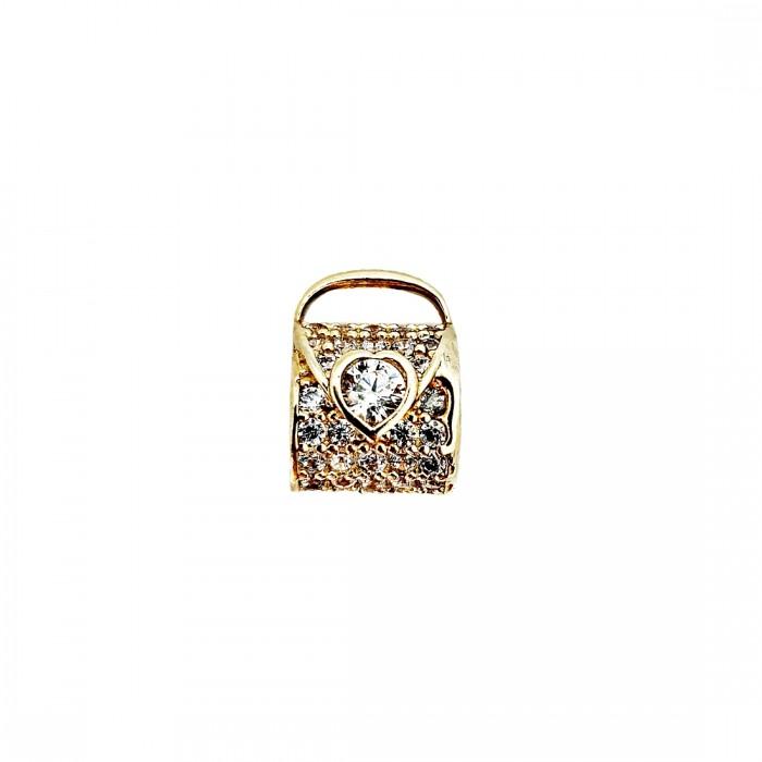 Złoty 585 14K element do bransoletki charms