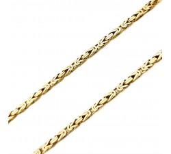 Zamówienie złoty łańcuszek 585 14K splot królewski 55 cm 2.1 mm