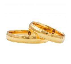Zamówienie P. Anna Obrączki zdobione złote 585 14K