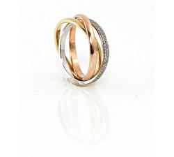 zamówienie ekskluzywny pierścionek z brylantami P. Rafał złoto 585 14K