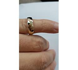 Zamówienie Express p. Sebastian obrączka klasyczna złoto 333 z brylantami