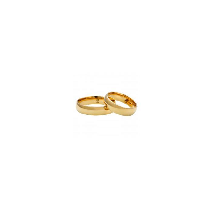 Para obrączek klasycznych złoto 333 szerokość 4 mm