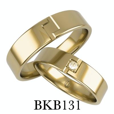 obrączki z motywem serca obrączki dwie połówki z brylantami cyrkoniami bkb127