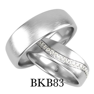 bizuteriakumor.pl obraczka białe złoto rząd cyrkonii brylantów po fali dookoła złoto 585 14K palladowe BKB83